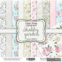 Набор скрапбумаги - Shabby garden, 20x20 см, ТМ Фабрика Декора