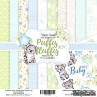 Набор скрапбумаги - Puffy Fluffy Boy, 20x20 см, ТМ Фабрика Декора