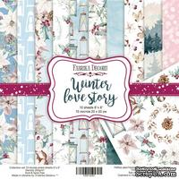 Набор скрапбумаги Winter Love Story, 20x20 см, TM Fabrika Decoru