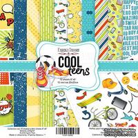 Набор скрапбумаги Cool Teens, 20x20 см, TM Fabrika Decoru