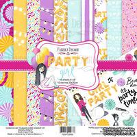 Набор скрапбумаги Party Girl, 20x20 см, Фабрика Декору