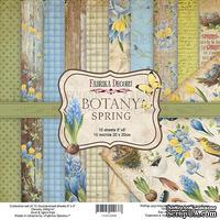 Набор скрапбумаги Botany Spring 20x20см, ТМ Фабрика Декору
