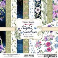 Набор скрапбумаги Night garden 20x20см, TM Fabrika Decoru