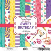 Набор скрапбумаги Sweet Birthday 20x20см, TM Fabrika Decoru