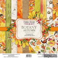 Набор скрапбумаги Botany autumn redesign 20x20см, ТМ Фабрика Декора