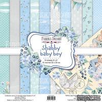 Набор скрапбумаги Shabby baby boy redesign 20x20см, ТМ Фабрика Декора