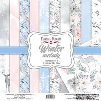 Набор скрапбумаги Winter melody 20x20см, ТМ Фабрика Декору