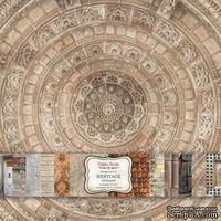 Набор скрапбумаги Heritage Texture 30,5x30,5 см, ТМ Фабрика Декора