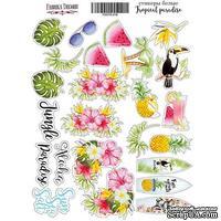 Набор наклеек Tropical paradise, ТМ Фабрика Декора - ScrapUA.com