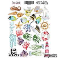 Набор наклеек Sea breeze, ТМ Фабрика Декора - ScrapUA.com