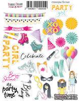 Набор наклеек 055 Party Girl, ТМ Fabrika Decoru - ScrapUA.com