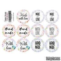 Набор наклеек (стикеров) для журналинга 1-002, ТМ Фабрика Декора - ScrapUA.com