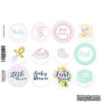 Набор наклеек (стикеров) для журналинга 1-015, ТМ Фабрика Декора - ScrapUA.com