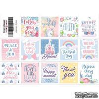 Набор наклеек (стикеров) для журналинга 2-002, ТМ Фабрика Декора - ScrapUA.com