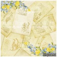 Деко веллум (лист кальки с рисунком) Весенние открытки, ТМ Фабрика Декора