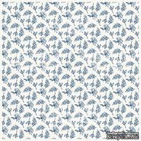 Деко веллум (лист кальки с рисунком) Веточки фон, ТМ Фабрика Декора