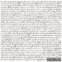 Деко веллум (лист кальки с рисунком) Письмо, ТМ Фабрика Декора - ScrapUA.com