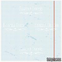 Деко веллум (лист кальки с рисунком) Тетрадный лист, ТМ Фабрика Декора