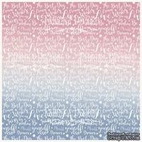 Деко веллум (лист кальки с рисунком) Сказочный текст, ТМ Фабрика Декора