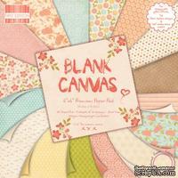 Набор бумаги от First Edition Blank Canvas, 15x15 см, 64 листа