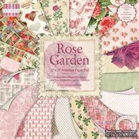 Набор бумаги для скрапбукинга First Edition - Rose Garden, 16 листов, размер 30х30 см