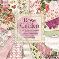 Набор бумаги для скрапбукинга First Edition - Rose Garden, 16 листов, размер 20х20 см