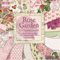 Набор бумаги для скрапбукинга First Edition - Rose Garden, 16 листов, размер 15х15 см