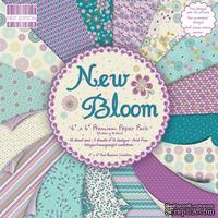 Набор бумаги для скрапбукинга First Edition - New Bloom, 16 листов, размер 15х15 см.