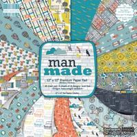 Набор бумаги от First Edition - Man Made, 30х30 см, 48 листов