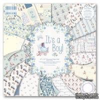 Набор бумаги от First Edition - It's a Boy, 30х30 см, 48 листов