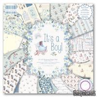 Набор бумаги от First Edition - It's a Boy, 20?20 см, 16 листов