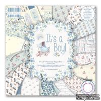 Набор бумаги от First Edition - It's a Boy, 15х15 см, 16 листов