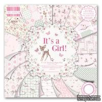 Набор бумаги от First Edition - It's a Girl, 15?15 см, 16 листов