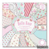 Набор бумаги от First Edition - Bella Rose, 30?30 см, 16 листов