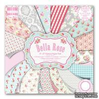 Набор бумаги от First Edition - Bella Rose, 20х20 см, 16 листов