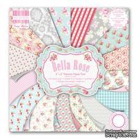 Набор бумаги от First Edition - Bella Rose, 15х15 см, 16 листов