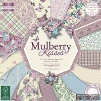 Набор скрапбумаги от First Edition - Mulberry Kisses, 30х30 см, 16 шт. (1/3 набора)