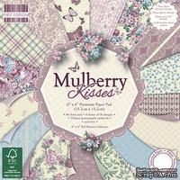 Набор скрапбумаги от First Edition - Mulberry Kisses, 15х15 см, 64 шт