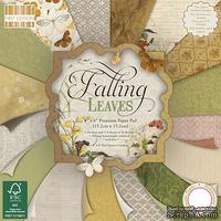 Набор скрапбумаги от First Edition - Falling Leaves, 15x15 см, 64 шт