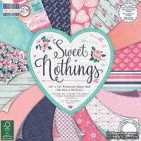 Набор бумаги от First Edition - Sweet Nothings, 30x30 см, 48 листов