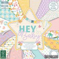 Набор бумаги для скрапбукинга First Edition - Hey Baby, 48 листов, 20х20 см