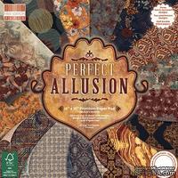 Набор бумаги для скрапбукинга First Edition - Perfect Allusion, 48 листов, 30х30 см
