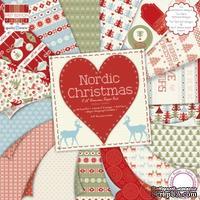 Набор бумаги от First Edition - Nordic Christmas, 20x20 см, 48 листов