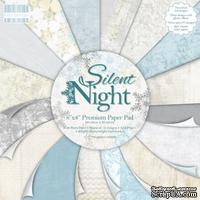 Набор бумаги от First Edition - Silent Night, 20х20 см, 48 листов