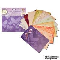 Набор заготовок для открыток и конвертов  Fairyopolis от Crafter's Companion, размер: 10х15 см, 12шт.