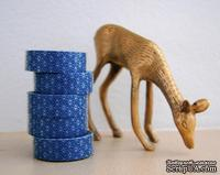 Бумажный скотч Washi Tape Freckled Fawn, FF004, длина 10 м, ширина 1,5 см