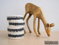 Бумажный скотч Washi Tape Freckled Fawn, FF332, длина 10 м, ширина 1,5 см