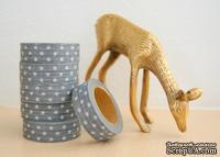 Бумажный скотч Washi Tape Freckled Fawn, FF913, длина 10 м, ширина 1,5 см