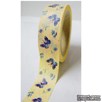Бумажный скотч Washi Tape Freckled Fawn, FF956, длина 10 м, ширина 1 см