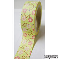 Бумажный скотч Washi Tape Freckled Fawn, FF960, длина 10 м, ширина 1,5 см